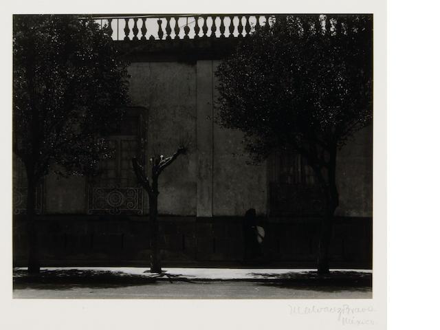 Manuel Alvarez Bravo (Mexican, 1902-2002); La Pena Negra (The Black Grief);