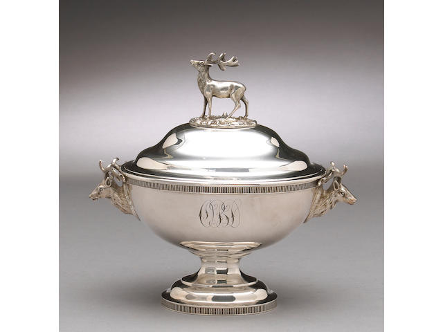 Sterling Sauce Tureen with Cover by Bogert