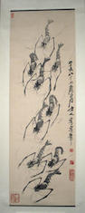 Attributed to Qi Baishi (1863-1957) Shrimps