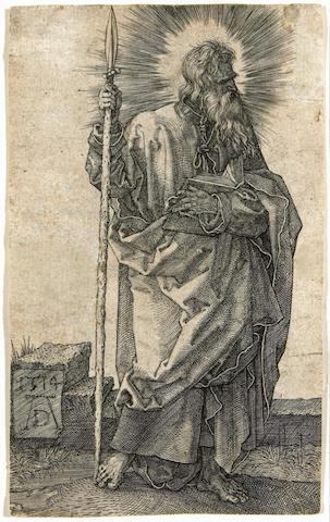 Albrecht Dürer (German, 1471-1528); St. Thomas;