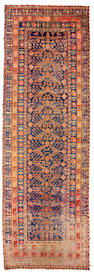 A Khotan long carpet Turkestan, size approximately 5ft. 6in. x 16ft. 6in.