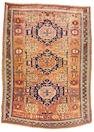 A Soumak carpet Caucasus, size approximately 9ft. 6in. x 6ft. 9in.