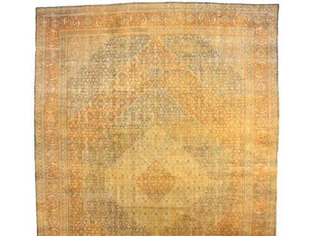 A Tabriz carpet Northwest Persia, size approximately 14ft. x 24ft.