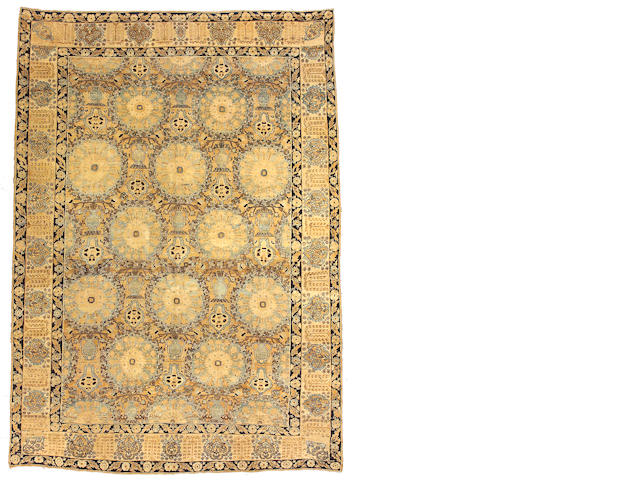 A Lavar Kerman carpet Central Persia, size approximately 8ft. 4in. x 11ft. 8in.