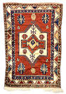 A Kazak rug Caucasus, size approximately 6ft. 3in. x 4ft. 3in.