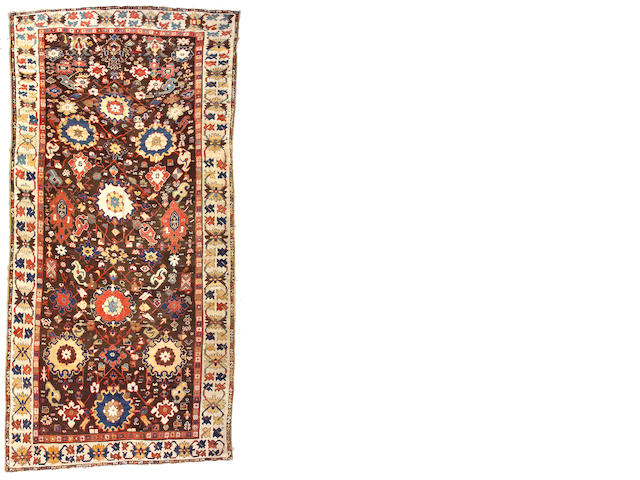 A Karabagh carpet Caucasus, size approximately 7ft. 8in. x 16ft.