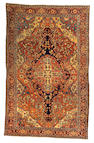 A Fereghan Sarouk rug Central Persia, size approximately 4ft. x 6ft. 8in.