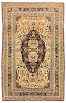 A Mohtasham Kashan rug Central Persia, size approximately 4ft. 1in. x 6ft. 4in.