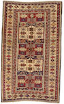 A Shirvan runner Caucasus, size approximately 4ft. 1in. x 6ft. 8in.