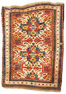An Eagle Kazak rug Caucasus, size approximately 7ft. 7in. x 5ft. 7in.