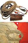 A collection of Western horse gear, Native American and related items