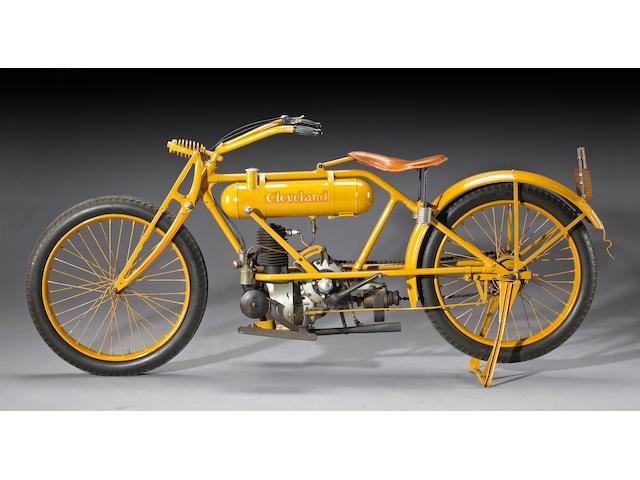 The Von Dutch,1919 Cleveland 13.5ci Lightweight Motorcycle Engine no. 286