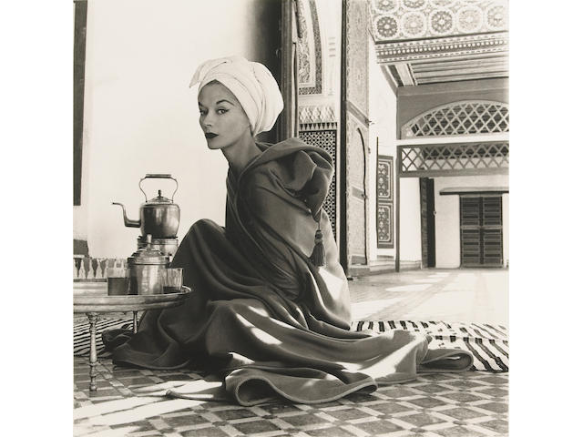 Irving Penn (American, born 1917); Woman in Moroccan Palace (Lisa Fonssagrives-Penn), Marrakech;