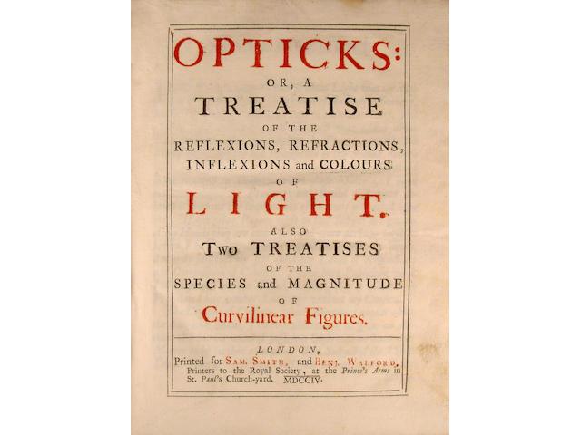 [NEWTON, SIR ISAAC. 1642-1727.]