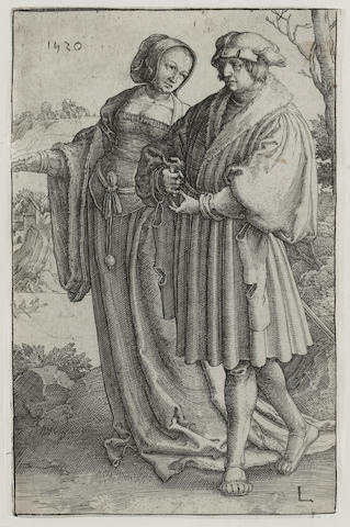 Lucas van Leyden (Dutch, 1494-1533); The Promenade;