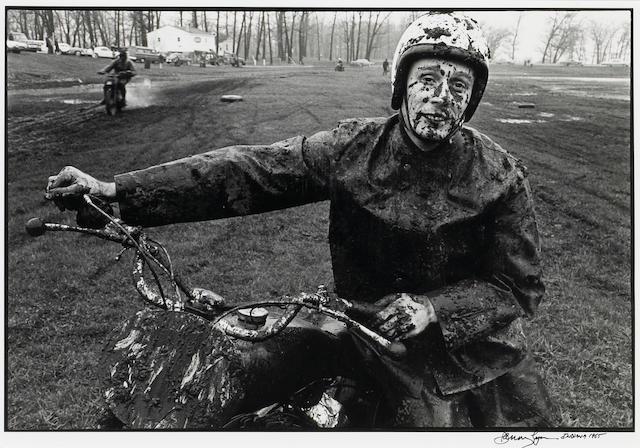 Danny Lyon (American, born 1942); Racer, Schererville, Indiana;