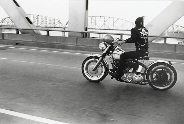 Danny Lyon (American, born 1942); Crossing the Ohio, Louisville;