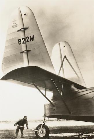 Margaret Bourke-White (American, 1904-1971); Sikorsky Type S-42, Pan American Plane;