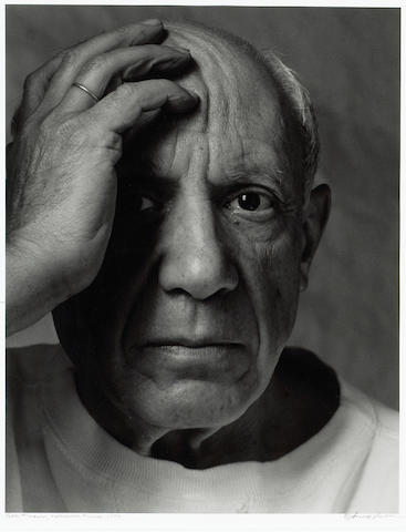 Arnold Newman (American, 1918-2006); Pablo Picasso, Vallauris, France;