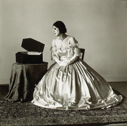 Peter Hujar (American, 1934-1987); Ethyl Eichelberger as Auntie Bellum;