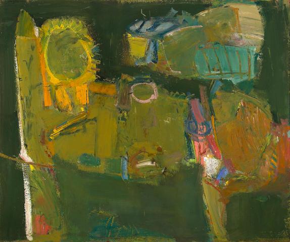 John Altoon (American, 1925-1969) Untitled, 1957 37 1/2 x 45in (95.3 x 114.3cm)