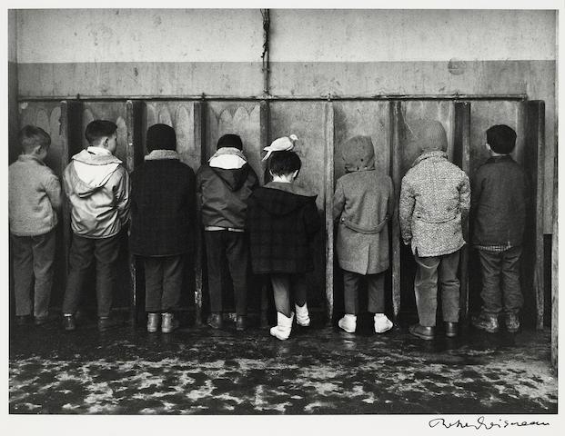 Robert Doisneau (French, 1912-1994); La Pigeon Indiscret;
