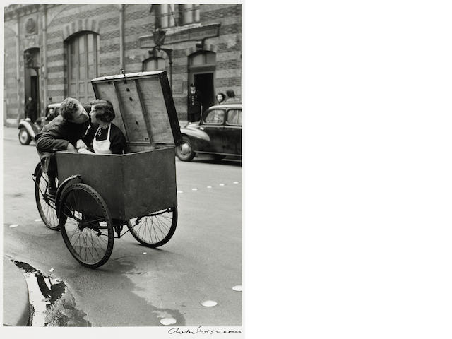 Robert Doisneau (French, 1912-1994); Baiser blotto;