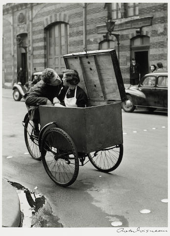 Robert Doisneau (French, 1912-1994); Baiser blotto;