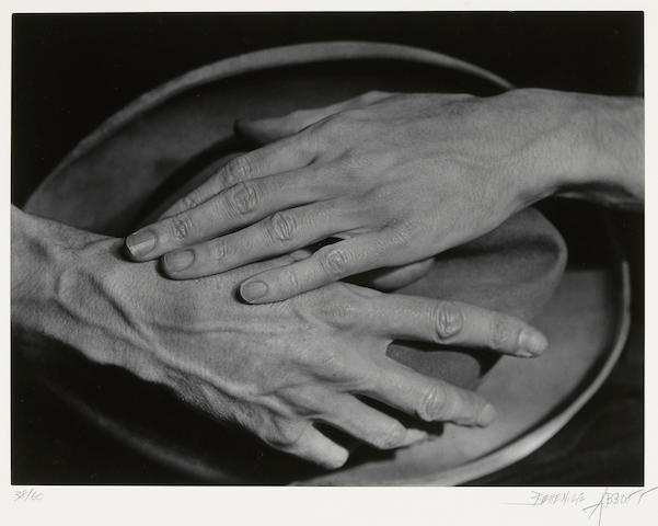Berenice Abbott (American, 1898-1991); Jean Cocteau's Hands;