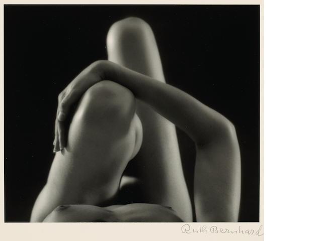 Ruth Bernhard (American, 1905-2006); Knees and Arm;
