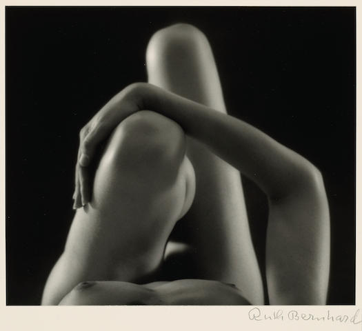 Ruth Bernhard (American, 1905-2006); Knees and Arm;