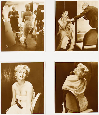 Edward Pfizenmaier (American, born 1926); Cecil Beaton Photographing Marilyn Monroe;