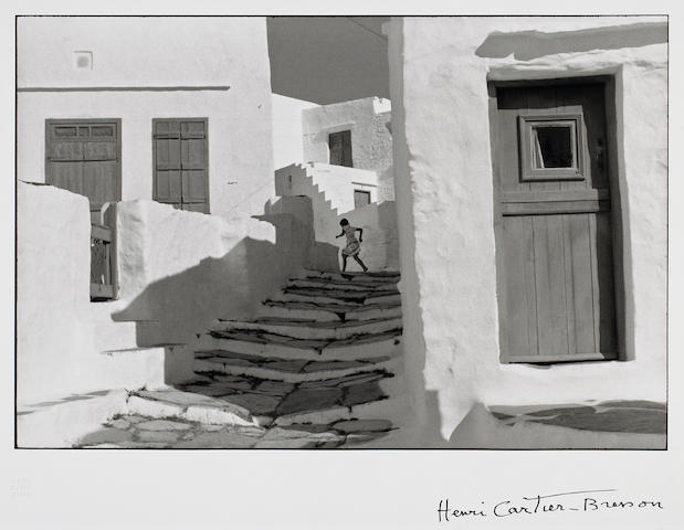 Henri Cartier-Bresson (French, 1908-2004); Siphnos, Greece;