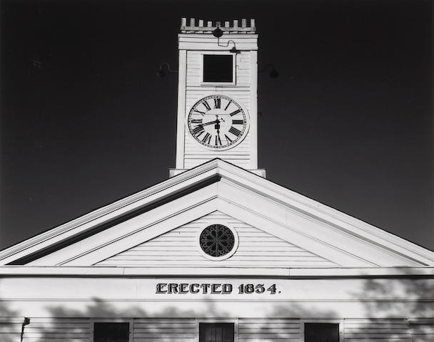 Ansel Adams (American, 1902-1984); Courthouse, Mariposa, California;