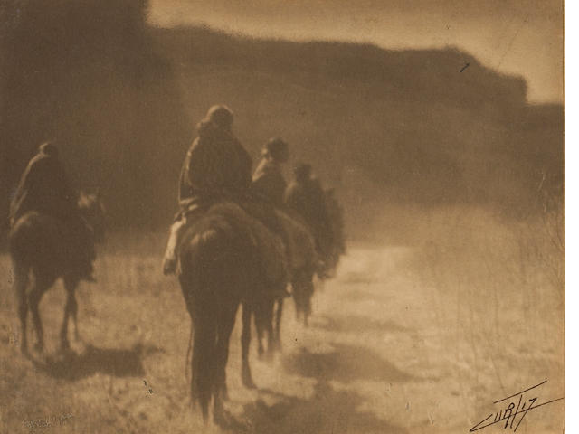 Edward S. Curtis (American, 1868-1952); The Vanishing Race;