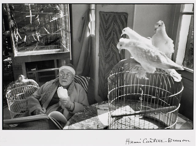 Henri Cartier-Bresson (French, 1908-2004); SPRING 2008 SALEHenri Matisse, France;