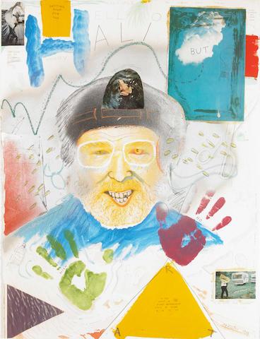 Robert Arneson, Hello Halibut, 1974, mixed media