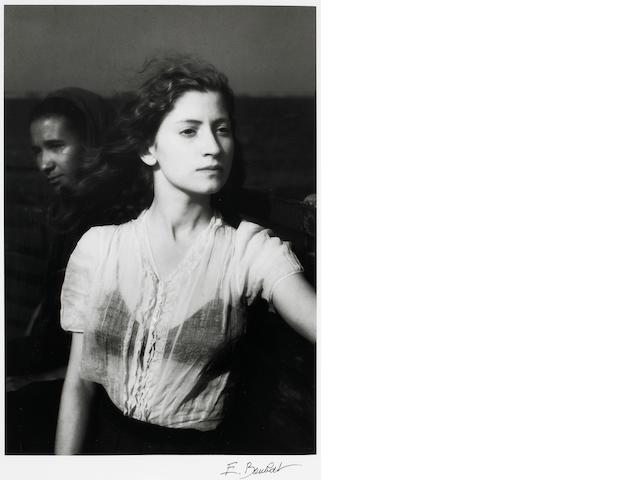 Edouard Boubat (French, 1923-1999); Lella 1947 Lella, Bretagne;