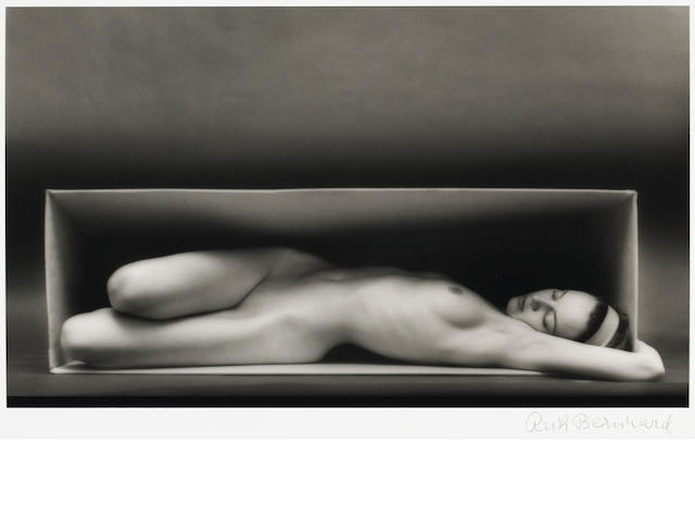 Ruth Bernhard (American, 1905-2006); In the Box - Horizontal;