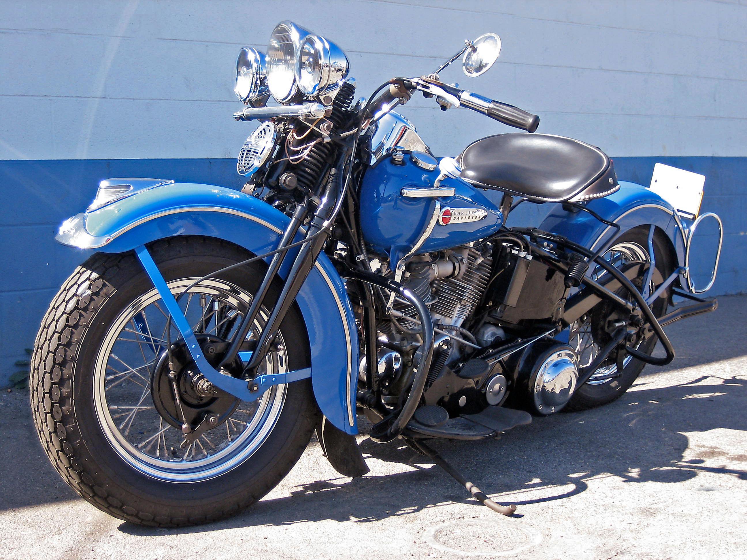 1948 Harley Davidson Model Fl Panhead Engine No