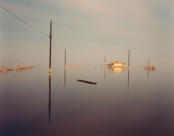 Richard Misrach (American, born 1949); Submerged Snack Bar, Salton Sea;