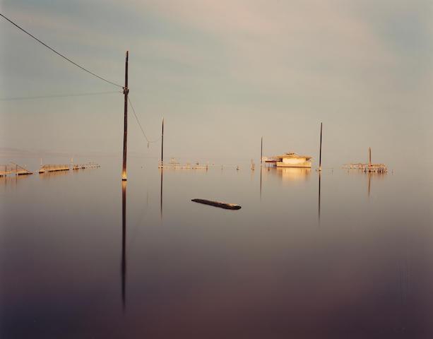 Richard Misrach (American, born 1949); Submerged Snack Bar, Salton Sea;