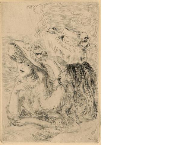 Pierre-Auguste Renoir (French, 1841-1919); Le Chapeau Epinglé, 1re Planche;