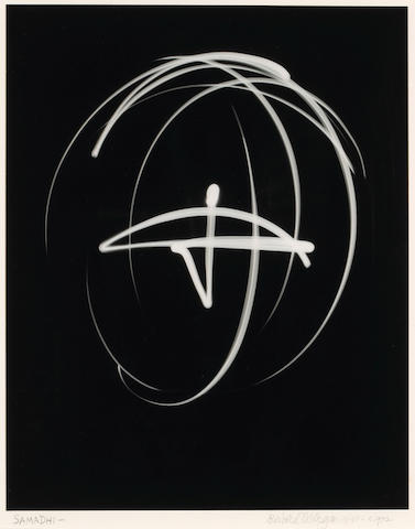 Barbara Morgan (American, 1900-1992); Samadhi, Light Drawing;