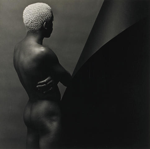 Robert Mapplethorpe (American, 1946-1989); Leigh Lee (Standing Back View), N.Y.C.;