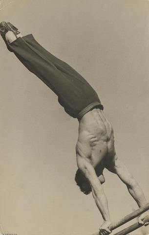 Alexander Rodchenko (Russian, 1891-1956); On the Parallel Bars;