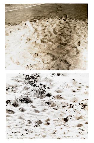 Douglas Heubler (American, born 1924) Duration Piece #12, Venice, California - Plum Island, (Newburyport) Massachusettes, 1969 project statement 11 x 8 1/2in (28 x 21.6cm) 7 1/2 x 9 1/2in (19 x 24cm)