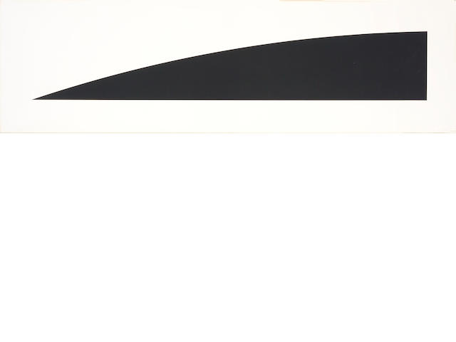 Ellsworth Kelly (American, born 1923); Large Black Curve;