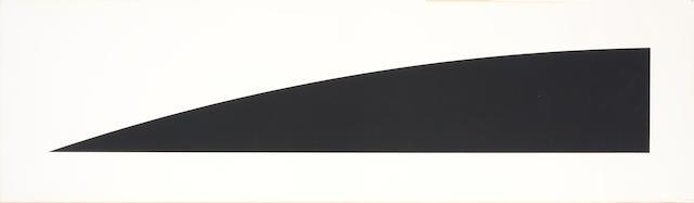 Ellsworth Kelly (American, born 1923); Large Black Curve;