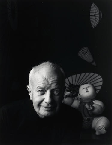 Judy Dater (American, born 1941); Untitled (Man and Doll);